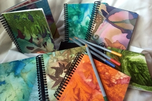 Handmade Spiral-Bound Journals, Sketchbooks, and Memory Books