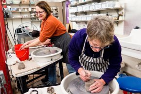 Ceramics: Wheel Throwing Intensive