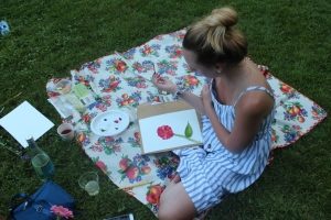 Photos from the Sip and Paint Summer Soiree with Margaret Dwyer!