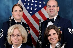 The United States Air Force American Clarinet Quartet