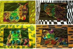 Scratch Art Creatures (9-12)