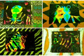 Scratch Art Creatures (5-8)