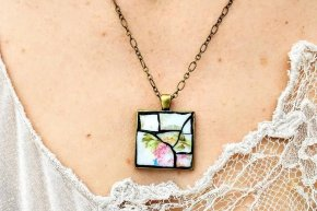 Mosaic Necklace Pendants